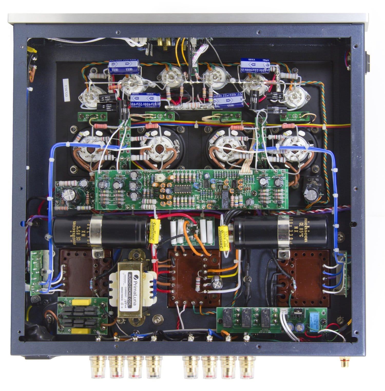 Prima Luna Power Amplifier Inside