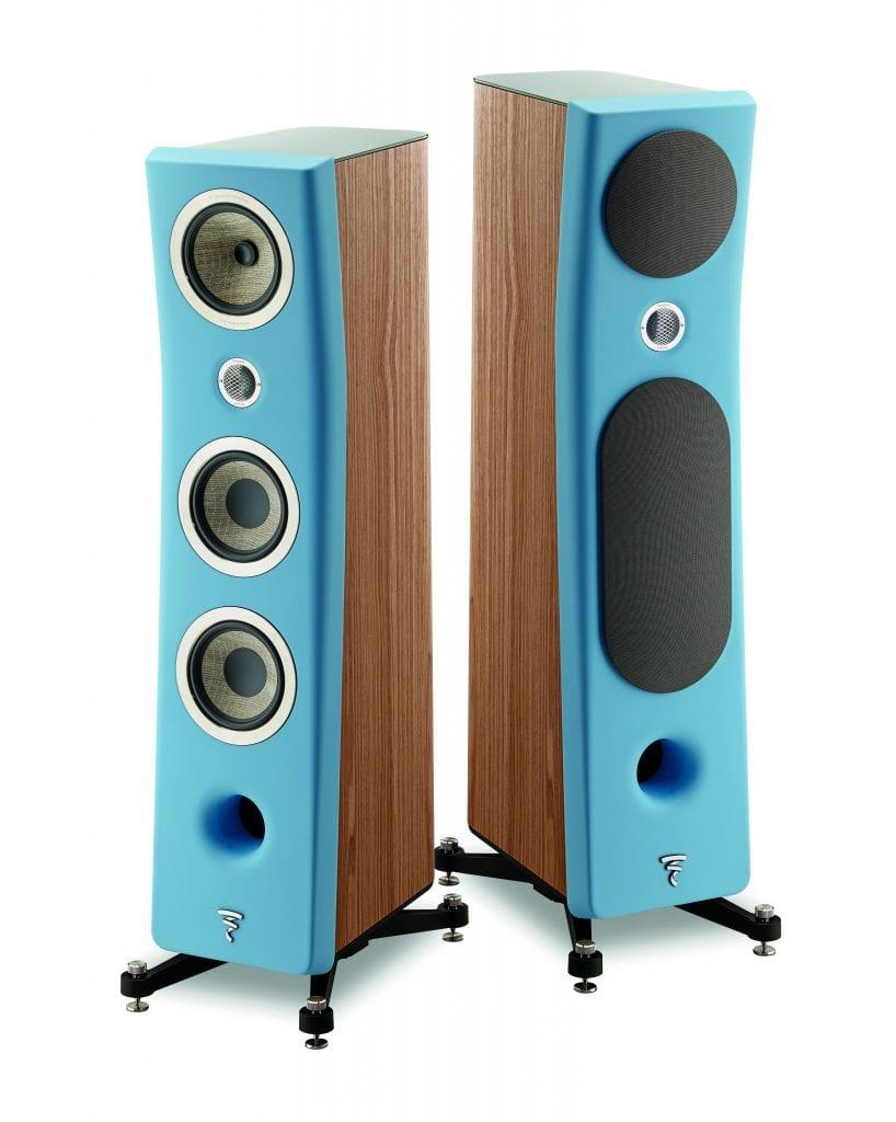 Focal Kanta Blue Speaker