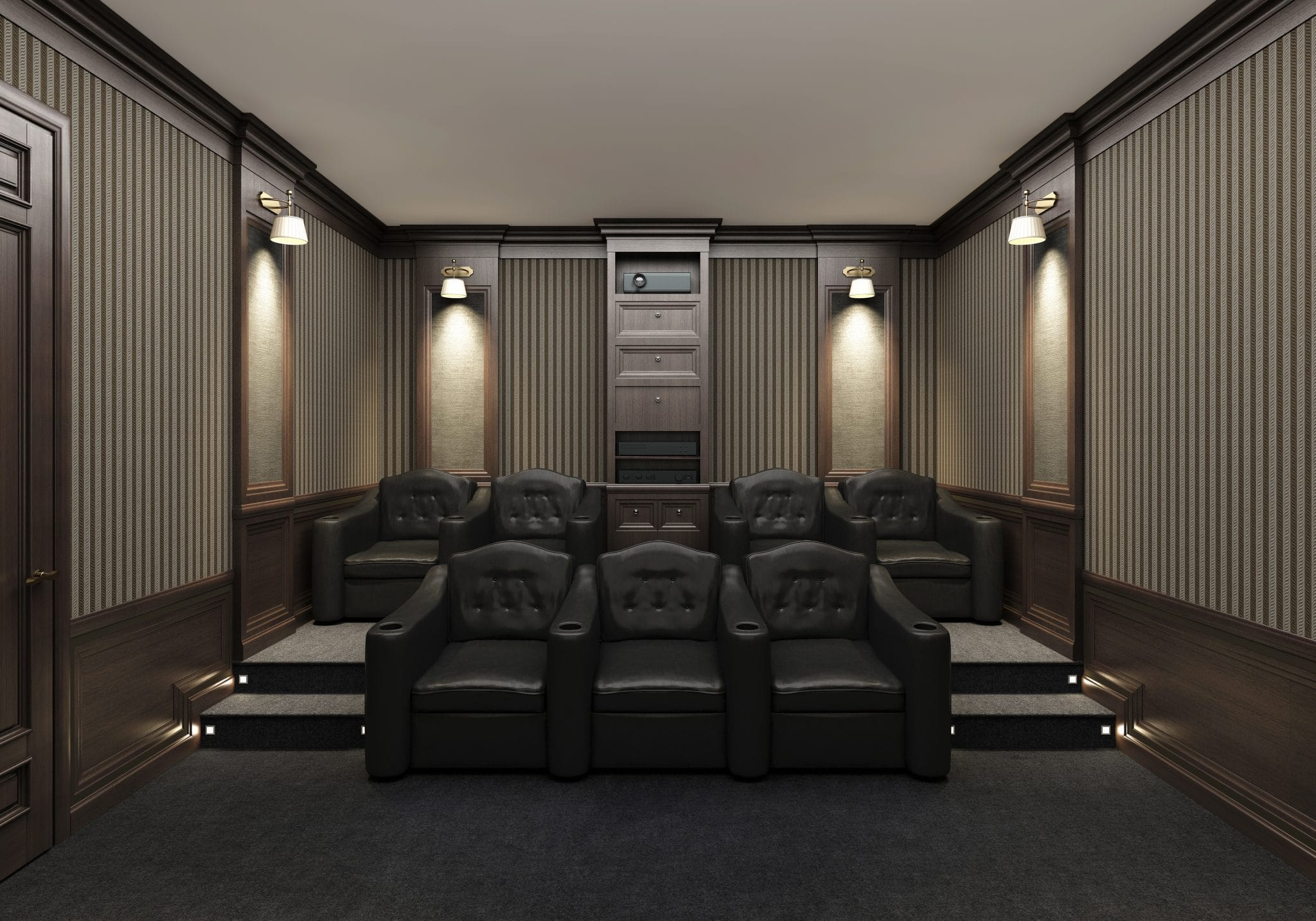 Custom Luxury home theater
